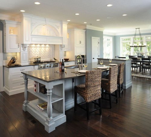 Our Top Favorite Islands - Kraftmaid kitchen island