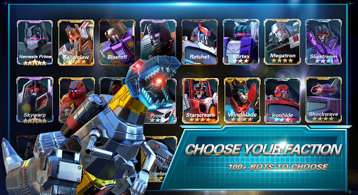 Transformers:Earth War 1.9.0.66 screenshots 9