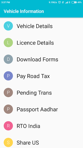 Car Info Vehicle Registration  screenshots 1