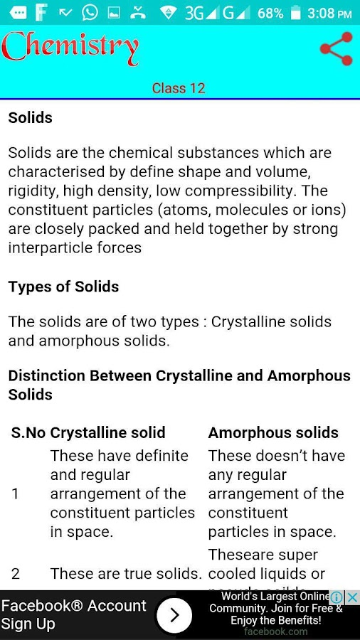 Class 12 Chemistry Notes- screenshot