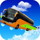 Flying City Bus Simulator 2016 icon