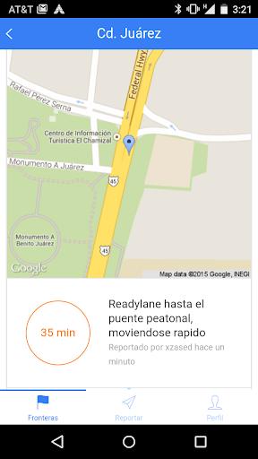 Al Puente - Border wait times