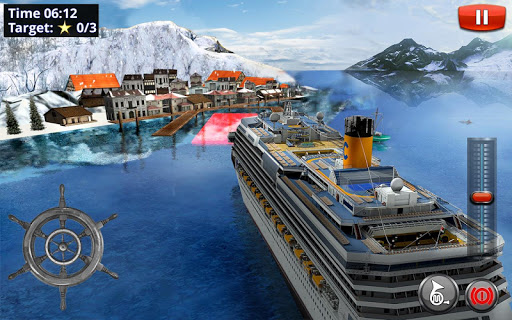 Big Cruise Ship Simulator Games : Ship Games screenshots 1