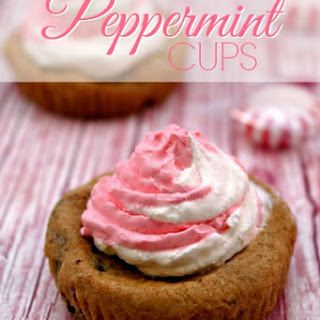 Peppermint Cookies Cups