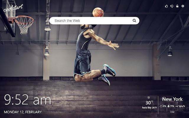 NBA All-Stars Basketball HD Wallpapers Theme