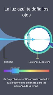 Filtro de Luz Azul – Modo Noche, Protector de Ojos 4