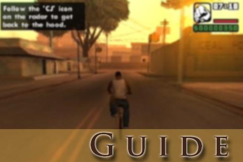 Key GTA Guide SAN ANDR