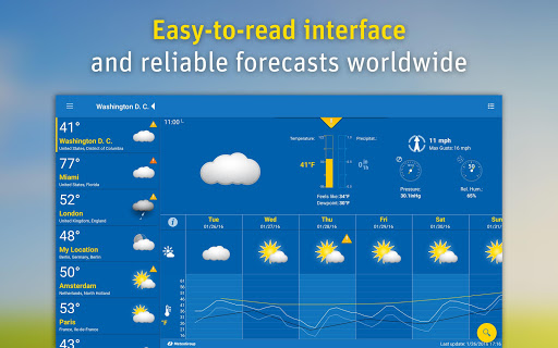 WeatherPro: Forecast, Radar & Widgets app (apk) free download for Android/PC/Windows screenshot