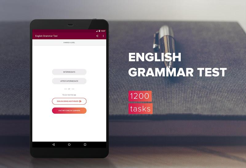 English Grammar Test Screenshot 6
