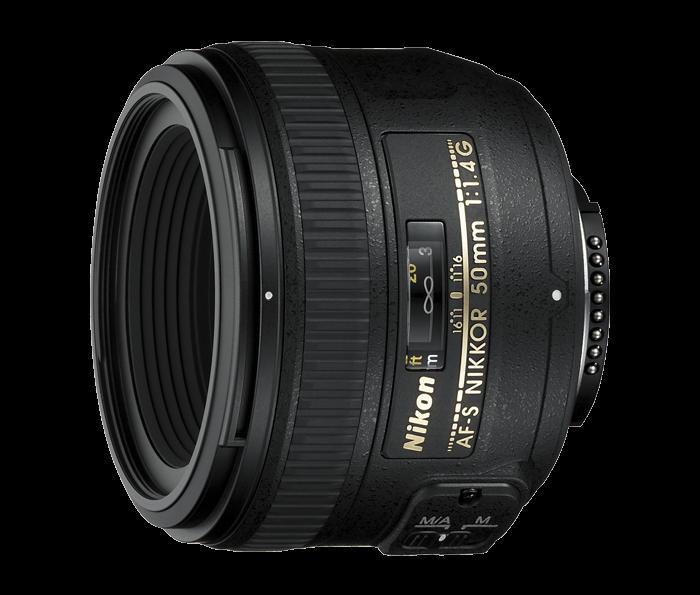 Nikon 50mm f / 1,4 AF-S