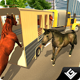 Transporter Truck Horse Stunts apk