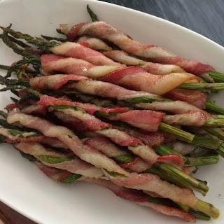 Bacon Wrapped Asparagus.