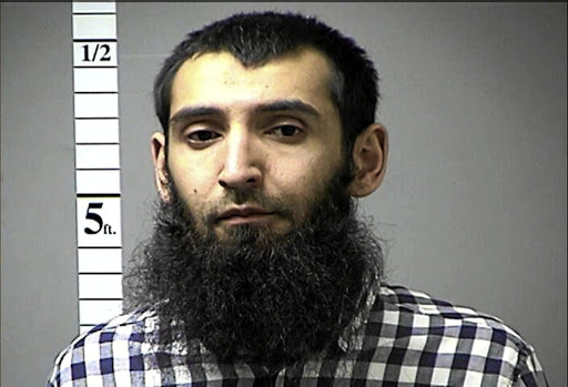 Sayfullo Saipov, the suspect in the New York City truck attack. Picture: ST CHARLES COUNTY DEPARTMENT OF CORRECTIONS VIA REUTERS