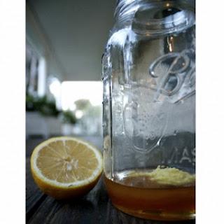 Ginger Lemon Honey Elixir