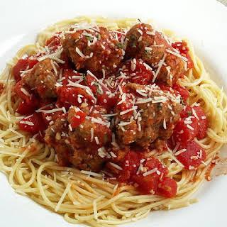 Italian Spaghetti and Meatballs.