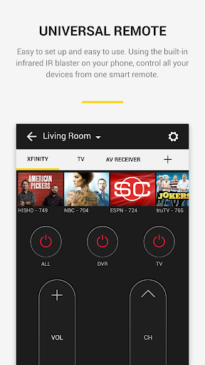 Peel Universal Smart TV Remote Control 10.5.8.5 screenshots 2