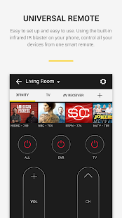 Peel Universal Smart TV Remote Control Screenshot