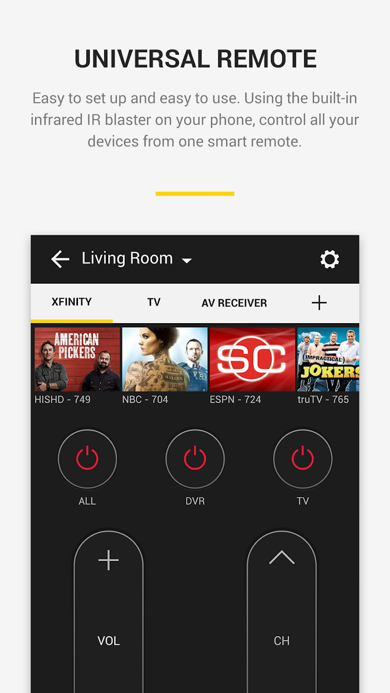Peel Universal Smart TV Remote Control APK Cracked Free