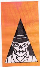 Photo: Wenchkin's Mail Art 366 - Day 134, Card 134d