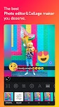screenshot of Square Quick Pro - Photo Editor, No Crop, Collage