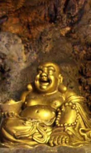 텐 천개의 불상 동굴 배경 화면 및 테마