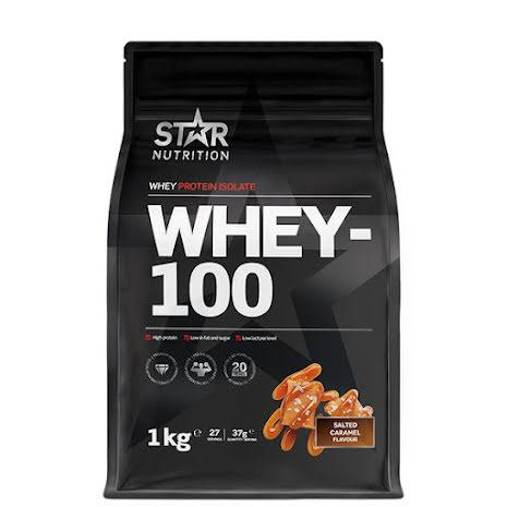 Star Nutrition Whey-100 1kg - Salted Caramel