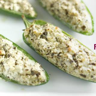 Keto Pesto Poppers.