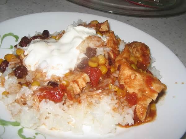Mexican Fiesta Chicken For Crock Pot Recipe