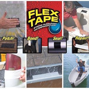 Set 2 x Banda super adeziva reparatoare Flex Tape