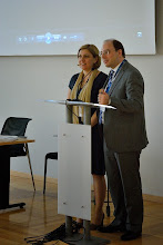 Photo: #eden14 Host Sandra Kucina and EDEN President Antonio Teixeira say goodbye to delegates - See you in Oxford and Barcelona! Photo by SRCE