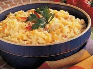 Cheesy Chicken Noodle Casserole Recipe