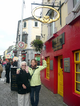 Photo: Grammy and I under the Claddagh!