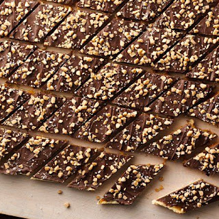 Salted Toffee Bars