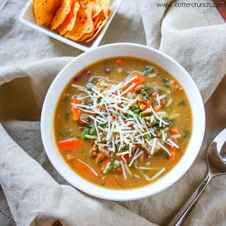 Everything But the Kitchen Sink Soup {Gluten Free}.