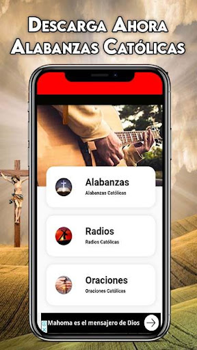 Alabanzas Catolicas Gratis: Cantos Catolicos Radio screenshots 1