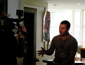 Photo: Morgana intervjuiraju o 689 put