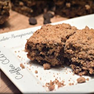 Dark Chocolate-Pomegranate Coffee Cake