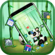 Bamboo Panda Emoji Theme