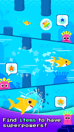 Baby Shark 8BIT : Finding Friends 1.0 screenshots 4