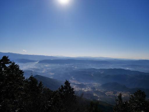富士見岩からの展望