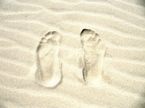 Photo: Year 2 Day 196 - Footprints in the Sand