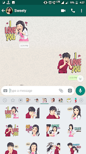 Couple Sticker App For WhatsApp-WAStickerApps 2