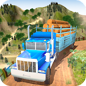 Tải Offroad Wood Transport Truck Driver 2018 miễn phí