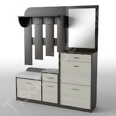 Прихожая-15 мебель разработана и произведена Фабрикой Тиса мебель