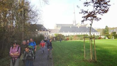 Photo: Het park van de abdij van Val Dieu