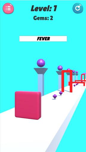 Jelly shape shift : 3D Cube Shifter 1.1 screenshots 1