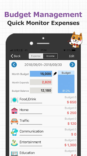 CWMoney EX  Expense Track- Best Financial APP ever screenshot