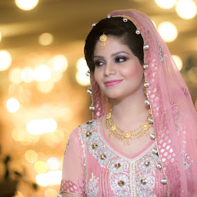 Bride Portrait by Awais Javed - Wedding Bride ( canon, 70-200, bride, tamron, 6d, portrait )