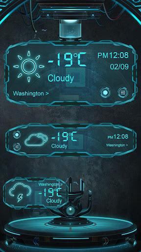 Technology GO Weather Theme