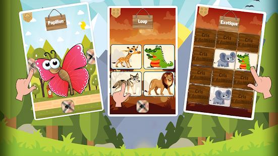 Cris d'animaux en français - náhled